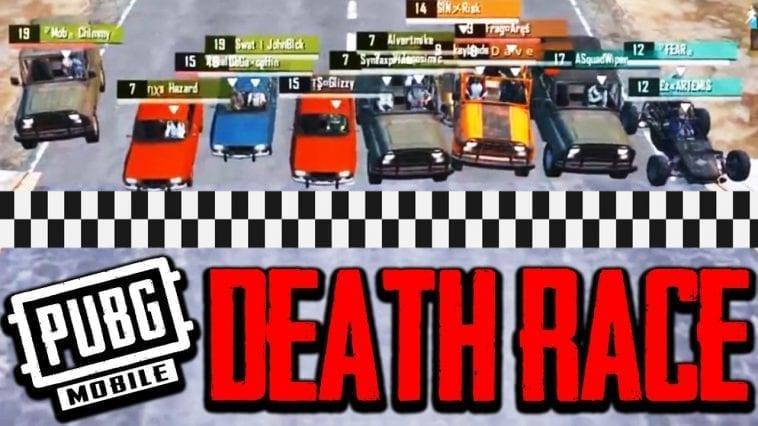 pubg mobile death race .