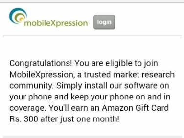 Mobile Xpression latest trick