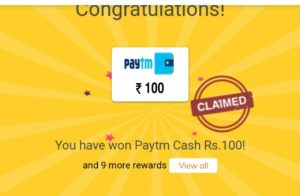 How to get free Paytm cash for old users