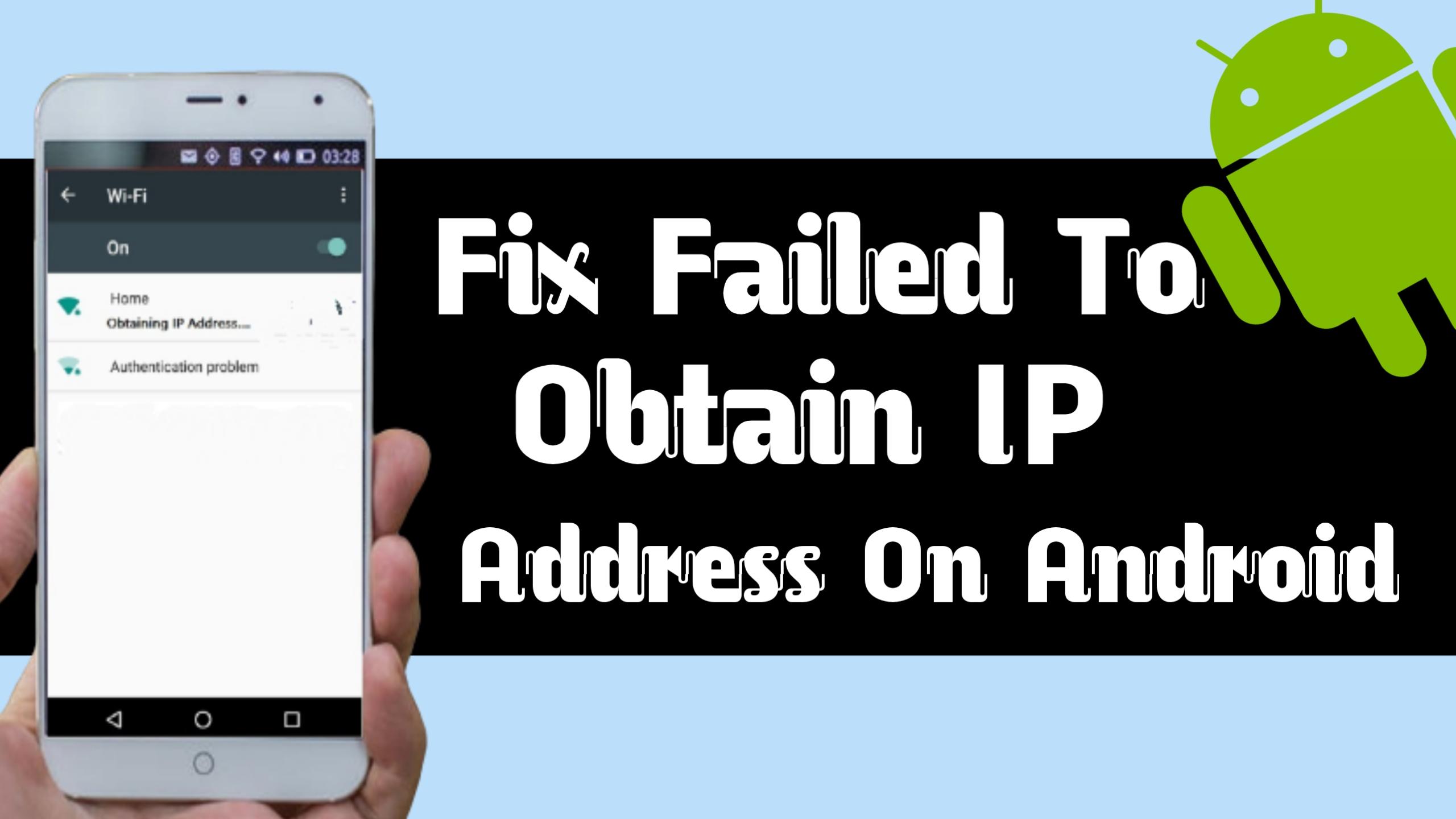 Failed To Obtain IP Address