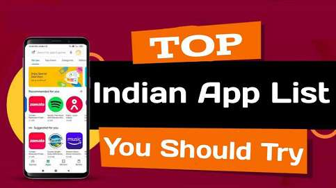 Top Indian Apps List