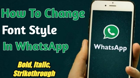 How To Change Font Style, And Colour In WhatsApp Messages