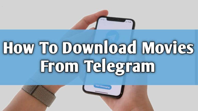 How To Download Movies From telegram