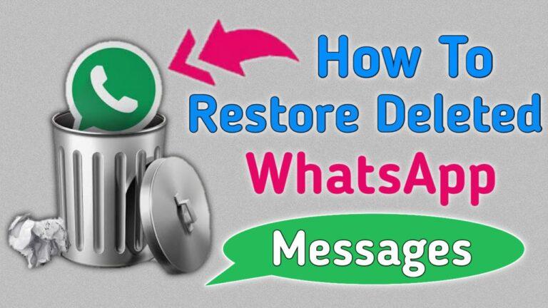 How To Restore Whatsapp Chat