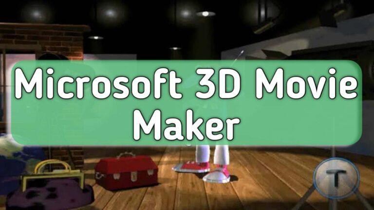 3D Movie Maker