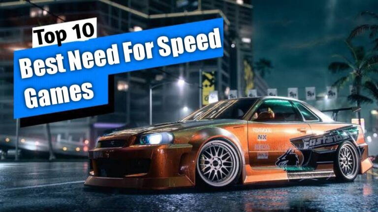 Best Need For Speed Games